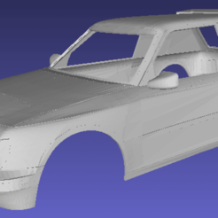 Download 3D printer templates Peugeot 205 Rally Printable Body Car, hora80