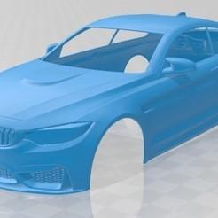BMW M4 - 1.jpg Télécharger fichier STL Carrosserie imprimable de la M4 • Plan à imprimer en 3D, hora80