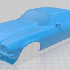 Impresiones 3D Camaro 1970 Printable Body Car, hora80