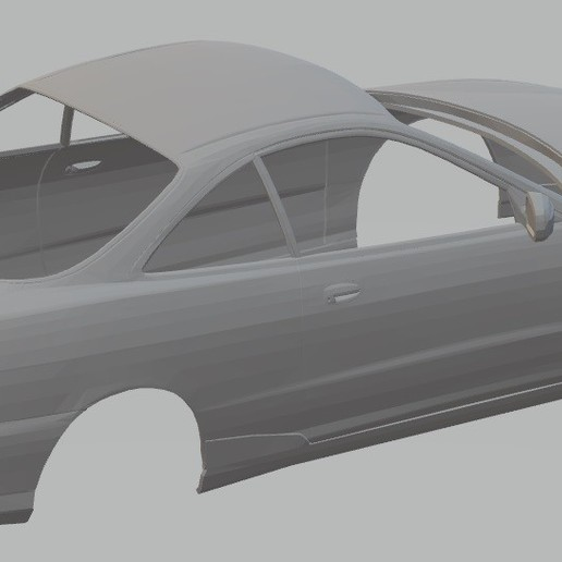Download 3D Printing Templates Acura Integra Type R DC2
