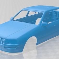 Descargar archivos STL Opel Senator 1987 Printable Body Car, hora80