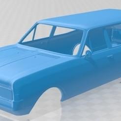 foto 1.jpg Download STL file Opel Rekord Wagon 1967 Printable Body Car • 3D print object, hora80