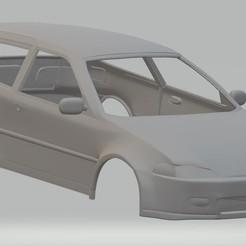 foto 1.jpg Télécharger fichier STL Honda Civic 1992 Carrosserie imprimable • Modèle pour imprimante 3D, hora80