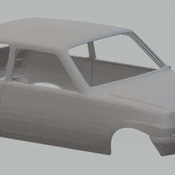 Impresiones 3D Renault 5 Printable Body Car, hora80