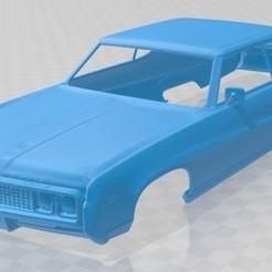foto 1.jpg Download STL file Electra 225 Sport Coupe 1969 Printable Body Car • 3D printing design, hora80
