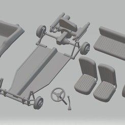 Download 3D printing files Volkswagen Buggy Meyers Manx 1965 Printable Car, hora80