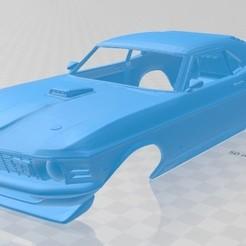 foto 1.jpg Télécharger fichier STL Mustang Mach 1 Voiture carrosserie imprimable • Plan à imprimer en 3D, hora80