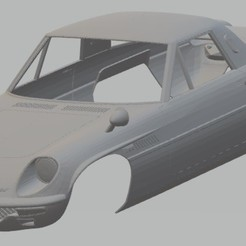 foto 1.jpg Download STL file Mazda Cosmo Sport 1967 Printable Body Car • Template to 3D print, hora80