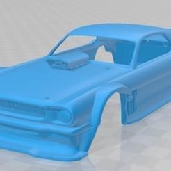 foto 1.jpg Download STL file Mustang Hoonicorn Printable Body Car • 3D printer template, hora80
