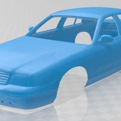 foto 1.jpg Download STL file Crown Victoria Printable Body Car • 3D printing design, hora80