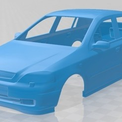 foto 1.jpg Download STL file Opel Astra G 1998 Printable Body Car • Template to 3D print, hora80