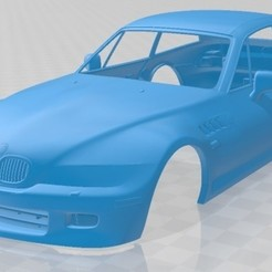 foto 1.jpg Download STL file Z3 Coupe (E368) 1999 Printable Body Car • 3D printing object, hora80