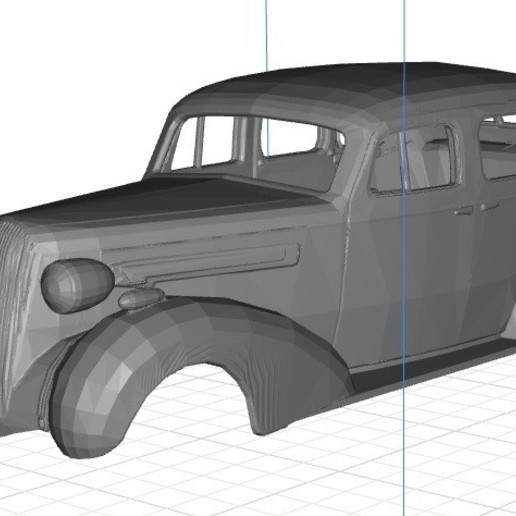 Download 3D printer designs Gasser 1936 Printable Body Car, hora80