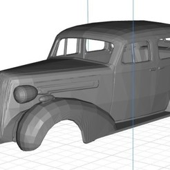 Impresiones 3D Gasser 1936 Printable Body Car, hora80