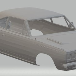 Download STL Plymouth Roadrunner Printable Body Car, hora80
