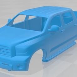 Download 3D printer files Toyota Tundra Printable Body Truck, hora80