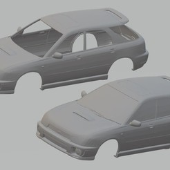 foto 0.jpg Download STL file Subaru Impreza Wagon Printable Body Car • 3D printing design, hora80
