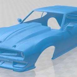 Descargar archivos STL AMC Ringbrothers Javelin Defiant 1972 Printable Body Car, hora80