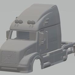 foto 1.jpg Télécharger fichier STL Camionnette imprimable Volvo VN • Modèle à imprimer en 3D, hora80