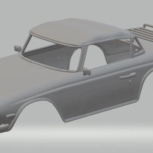 Download 3D printing templates Triumph TR6 Printable Body Car, hora80