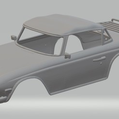 Download 3D printing templates Triumph TR6 Printable Body Car, hora80