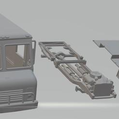 foto 1.jpg Download STL file Grumman Olson 1986 Printable Truck • Model to 3D print, hora80