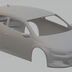 Descargar diseños 3D Volkswagen Scirocco Printable Body Car, hora80