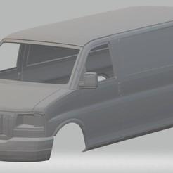 Télécharger STL Fourgonnette imprimable Savannah Cargo, hora80
