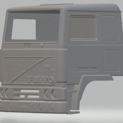 Descargar modelo 3D Volvo F10 Printable Body Cab, hora80