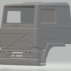 Télécharger STL Volvo F10 Cabine à carrosserie imprimable, hora80