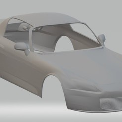 Download 3D printing models Honda S2000 Printable Body Car, hora80