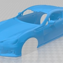 foto 1.jpg Download STL file Subaru BRZ 2014 Printable Body Car • 3D printable design, hora80