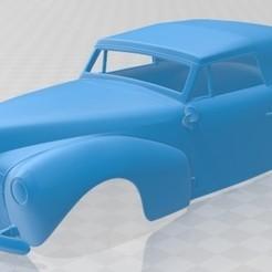 foto 1.jpg Télécharger fichier STL Zephyr Continental Cabriolet 1939 Carrosserie imprimable • Modèle pour impression 3D, hora80