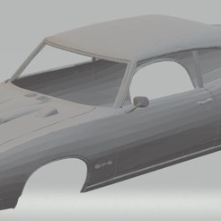 Télécharger plan imprimante 3D GTO Juge Juge Carrosserie Imprimable, hora80