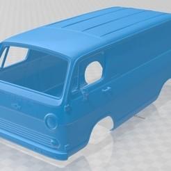Download 3D model G10 1964 Printable Body Van, hora80