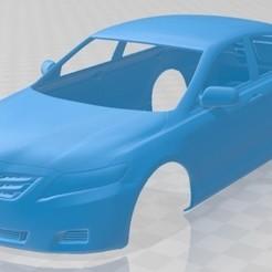 foto 1.jpg Download STL file Toyota Camry LE 2010 Printable Body Car • 3D print design, hora80