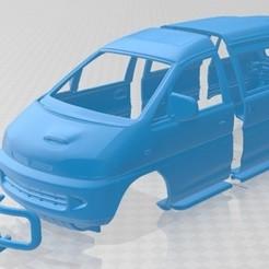 Download 3D printer designs Mitsubishi Delica Space Gear 4WD 1994 Printable Body car, hora80