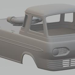 Download 3D model Econoline 1965 Drag Race Printable Body Van, hora80