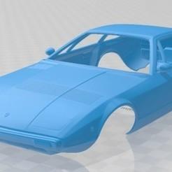 Maserati Khamsin 1977 - 1.jpg Download STL file Maserati Khamsin 1977 Printable Body Car • 3D printable object, hora80