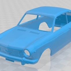 foto 1.jpg Download STL file Seat 850 Sport / Fiat 850 Sport Body Car • 3D print template, hora80