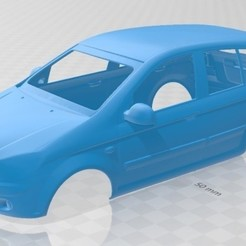 Download STL files Hyundai Getz 2006 Printable Body Car, hora80