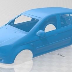 Impresiones 3D Hyundai Getz 2006 Printable Body Car, hora80