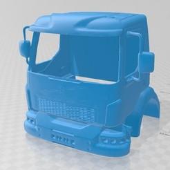 Imprimir en 3D Volvo VM Printable Cabin Truck, hora80