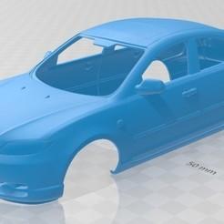 foto 1.jpg Download STL file Mazda 3 Sedan 2005 Printable Body Car • 3D printer template, hora80