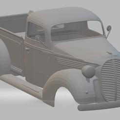 Download STL F 100 Printable Body Truck 1939, hora80