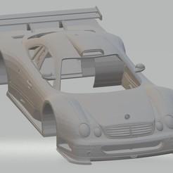 Descargar archivo 3D Mercedes Benz CLK GTR Printable Body Car, hora80