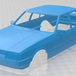 Download 3D printing models Falcon 1982 Printable Body Car,, hora80