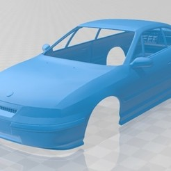 foto 1.jpg Download STL file Opel Calibra 1990 Printable Body Car • 3D printing model, hora80