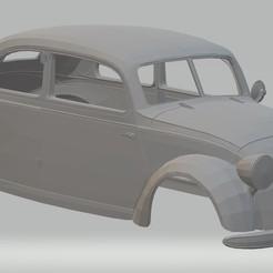 Descargar modelo 3D Mercedes Benz 170 H Printable Body Car, hora80