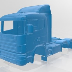 Download 3D model Scania AB Printable Truck, hora80